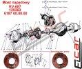 Mosty napędowe - części zamienne do wózków widłowych BALKANCAR - EV-687MOST NAPĘDOWY cz.1
