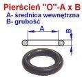 Pozostałe części zamienne do wózków widłowych BALKANCAR - Pierścień O   8X2.5