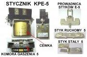 Elektryka - części zamienne do wózków widłowych BALKANCAR - Stycznik KPE-5 40V 100A