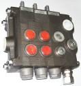 Instalacje hydrauliczne - części zamienne do wózków widłowych BALKANCAR - Rozdzielacz RX-346/4ISS3