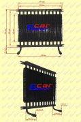 Pozostałe części zamienne do wózków widłowych BALKANCAR - CHŁODNICA OLEJU R-2 BIBO do wózków widłowych BALKANCAR