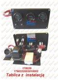 Elektryka - części zamienne do wózków widłowych BALKANCAR - TABLICA Z INSTALACJA R-2 do wózków widłowych
