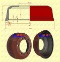 Instalacje hamulcowe - części zamienne do wózków widłowych BALKANCAR - BĘBEN HAMULCOWY do wózków widłowych BAŁKANCAR