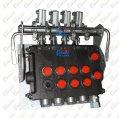 Instalacje hydrauliczne - części zamienne do wózków widłowych BALKANCAR - Kpl. dźwigni rozdzielacza 346 ze wspornikiem do wózków widłowych