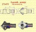 Instalacje hydrauliczne - części zamienne do wózków widłowych BALKANCAR - ŁĄCZNIK POMPY ZEBATEJ A-18/25X SSACY do wózków widłowych BAŁKANCAR