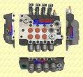 Instalacje hydrauliczne - części zamienne do wózków widłowych BALKANCAR - ROZDZIELACZ RX80  DV-1784/92 (4 SEKCYJNY)