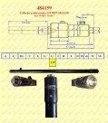 Instalacje hydrauliczne - części zamienne do wózków widłowych BALKANCAR - CYLINDER PODNOSZENIA 50 do wózków widłowych BALKANCAR