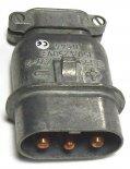 Elektryka - części zamienne do wózków widłowych BALKANCAR - WTYCZKA ZW-2 części do wózków widłowych