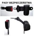 Pozostałe części zamienne do wózków widłowych BALKANCAR - Pas bezpieczeństwa /do siedzenia operatora/ do wózków widłowych
